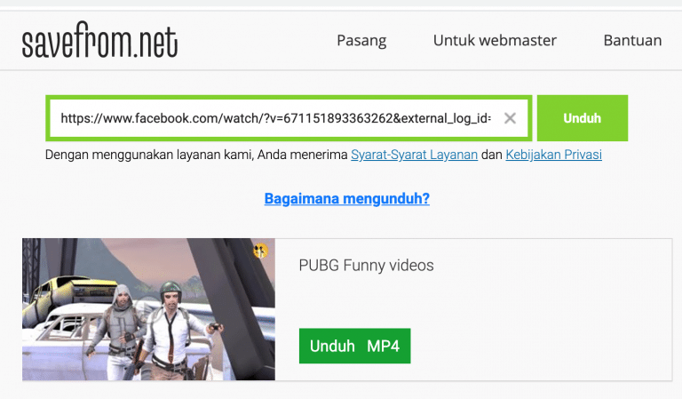 Cara mudah Download Video Facebook di PC dan Android