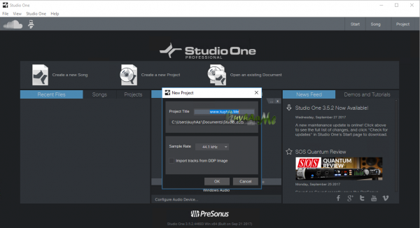 Free Download Studio One Professional 4.1.3.50787 Full Version